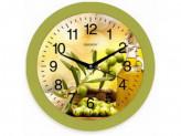 Часы настенные Energy EC-100 оливки