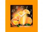 Часы настенные САЛЮТ ДС-4АА2.1-102 АПЕЛЬСИНОВЫЙ СОК