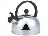 Чайник из нержавеющей стали Mallony DJA-3033 3,0 литра, со свистком, капсульное дно