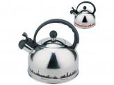 Чайник из нержавеющей стали с рисунком, меняющим цвет Mallony MAL-CITY-01 3,0 литра, со свистком, к