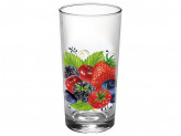 Набор стаканов 250мл 6штук  Ягодный фреш  146-Д
