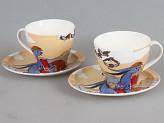 Чайный набор ROSENBERG 8682 4 предмета, 2 персоны, 220мл