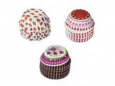 Набор формочек для кап-кейков 120шт, 3x2x5см 3 дизайна