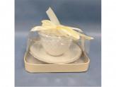 MILLIMI Романс Набор чайный 2 предмета 240мл, рельеф, костяной фарфор