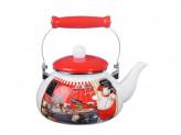 Повар Чайник эмалированный 2,5 л, индукция