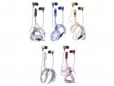 FORZA Наушники вставные с микрофоном, 100 см, 96±3dB, 3.5мм, 16Ом, 5 цветов