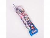 Дождик 1,2м новогоднее украшение на елку дождик из фольги ассорти гофра упаковка