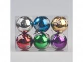 Новогоднее  украшение на елку шары 7см пенопласт