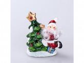 Сувенир новогодний керамика 2569в 10см