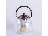 Чайник заварник стекло и сито нерж 1600мл