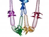 Новогоднее украшение растяжка из фольги s-40 упаковка 10