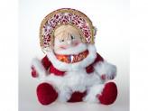 Игрушка тканевая снегурочка под елку st14-88828c 27,5cm