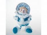 Игрушка тканевая снегурочка под елку st14-8034c  27cm