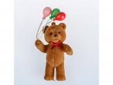 Украшение новогоднее на елку пластик мишка yb-1620-1980 с-23