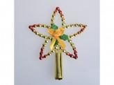 Украшение новогоднее на елку 15см пластм dh16-5379 б75