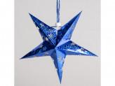 Звезда новогодняя бумажная 30см  v-29
