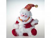 Игрушка тканевая снеговик под елку st14-88828b 27,5cm