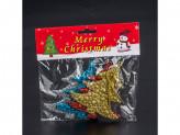 Новогоднее украшение на елку пластик 4шт hr18-038 18 42