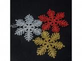 Новогоднее украшение на елку пластик 3шт hr18-227 18 46