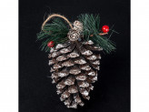 Новогоднее украшение на елку пластик lh35-7130 18 21