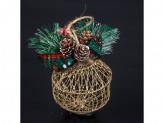 Новогоднее украшение на елку пластик lh3-8405 18 22