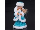Снегурочка 28см  поет на русском, танцует  3018-01ab