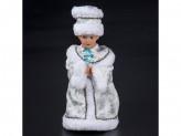 Снегурочка 30см  поет на русском, танцует  3016-43ab