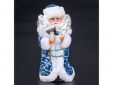 Дед мороз 28см  поет на русском, танцует  3018-02ab