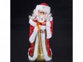 Дед мороз 40см  поет на русском, танцует  3018-42ab