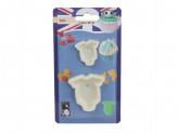Набор выемок кондитерких для мастики марципана детский боди bhu-s626-5