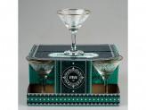 Набор бокалов для мартини 6шт боярский 1715-гз