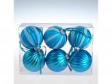 Украшение новогоднее на елку пластик s30029 6cм уп6шт