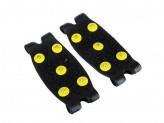 SILAPRO Ледоходы на носок, 10х4,5см, 5 шипов, силикон, пластик, металл