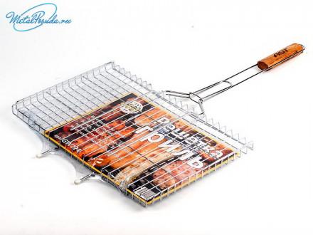 Решетка для барбекью металл/ 1627