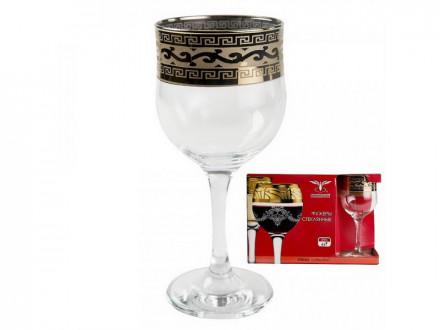 Набор фужеров 6 шт 240мл для вина ВЕРСАЧЕ GE08-163