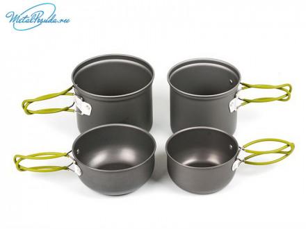 Набор посуды походный. 44282