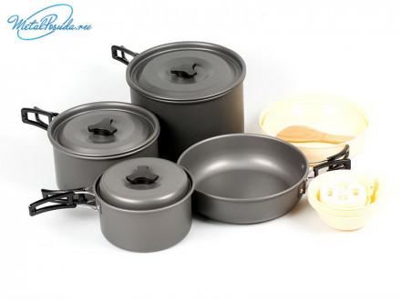 Набор посуды походный. 44279