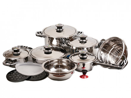 Набор посуды 19 предметов ZP-532 ZELMER