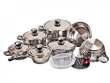 """Набор посуды из 19 предметов  """"Haus Muller"""""""