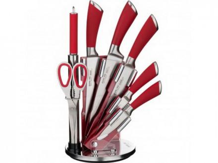 Набор ножей AGNESS 911-501 на подставке 8 предметов