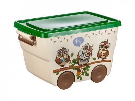 Ящик для игрушек 23л ДЕКО М2550