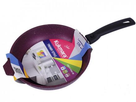 Сковорода KUKMARA Trendy Style Mystery со съемной ручкой 221tsm 22см