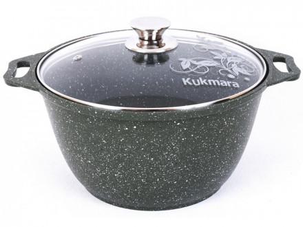 Кастрюля KUKMARA Trendy Style Emerald к41tse 4л