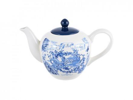 Чайник заварочный, 1200мл, керамика MILLIMI Гравюра