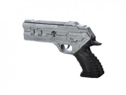 ИГРОЛЕНД Пистолет-трещетка, пластик, 29х15х4см