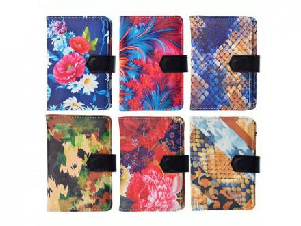 Визитница искусств.кожа, на 24 карты, 7,7х10,5см, 1 дизайн