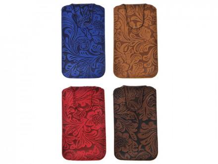 Чехол для телефона, пу, 15х8,5см, 4 цвета