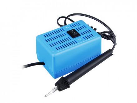 """Электроприбор для выжигания по дереву """"Узор-10к"""", пластик, металл, 16х11, 7х6, 5см 10КОРОЛЕВСТВО"""