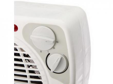 Тепловентилятор ТВ-2002 (2 режима, 1000/2000Вт), термостат, защита от перегрева, индикатор вкл ЕРМАК