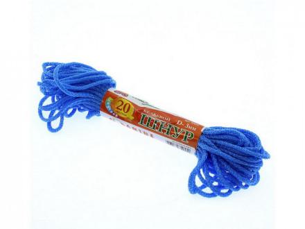 Шнур для белья 20м d-3мм цветной